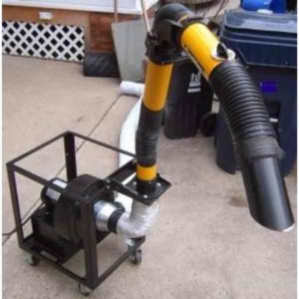 DIY welding Fume Extractor