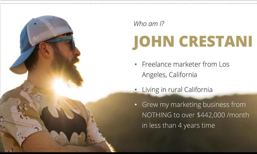 Who is John Crestani?