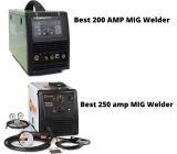 Best 200, 250 Amp MIG Welders: Review & Buying Guide