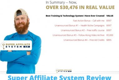 Super Affiliate System Review-Is it Legit or a BIG Scam?
